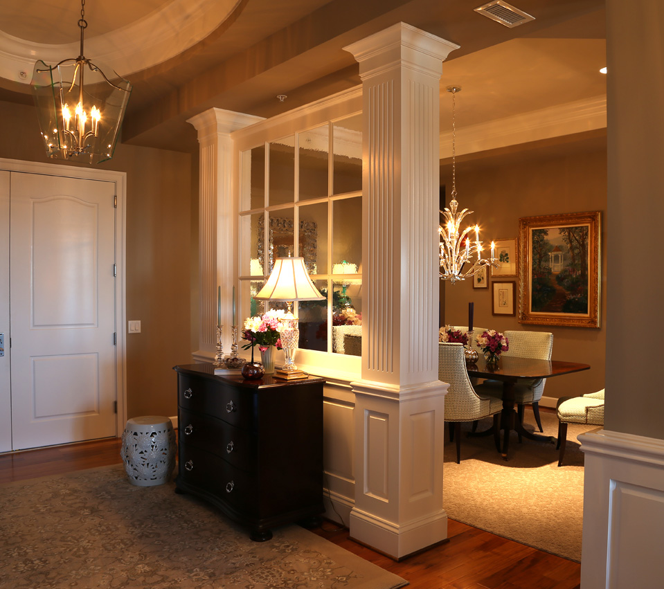 Fireplace with Flanking Bookcases — Miles Enterprises ...